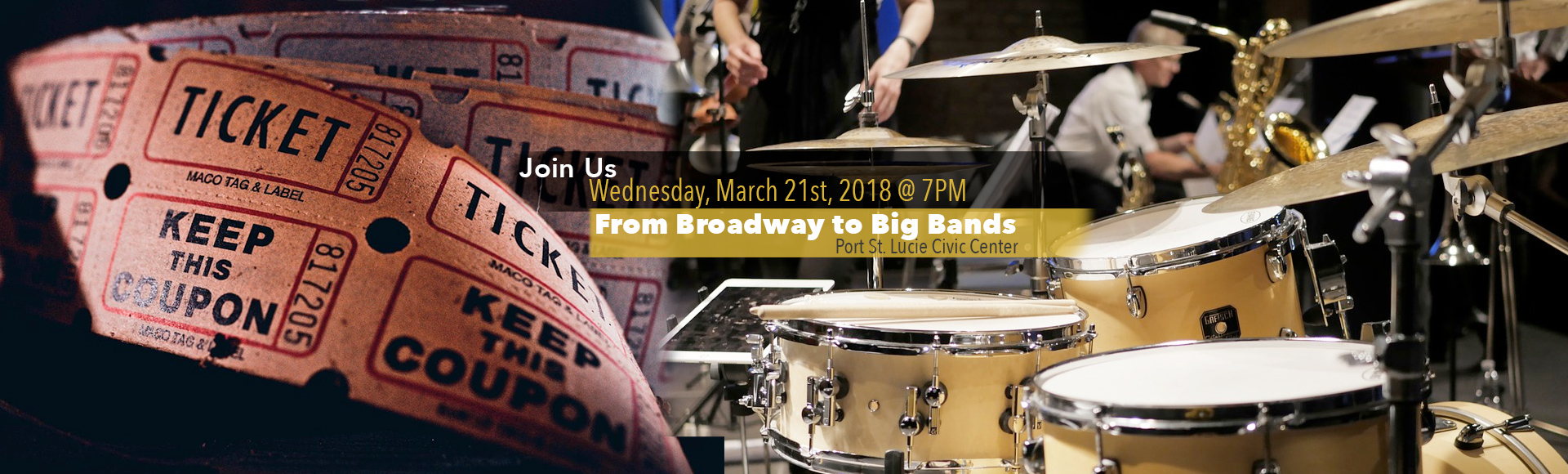 From Broadway To Big Bands Concert